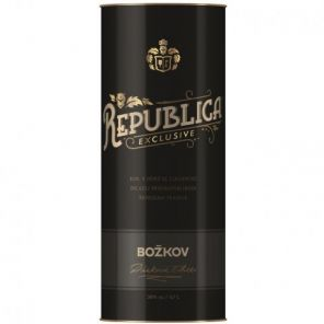 BOŽKOV Republika Exclusive+tuba 0,7L 38%