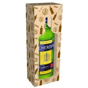 BECHEROVKA 38% 3 l dřev. box