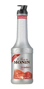MONIN Fraise-jahody pyré 1L