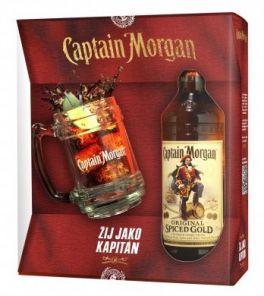 CAPTAIN MORGAN Spiced +1 KORBEL