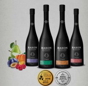 Baron Hildpr. malina 40% 0,7l