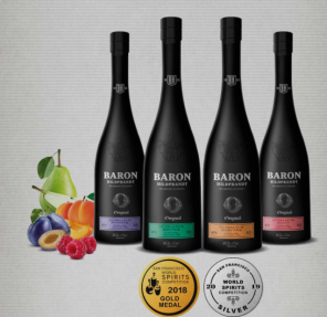 Baron Hildpr. meruňka 40% 0,7l