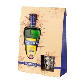 BECHEROVKA + 2 skleničky 0.7l 38%