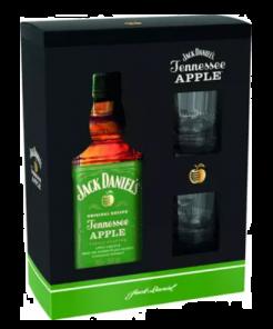 JACK DANIELS Apple + 2sklo 0,7L