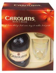 CAROLANS + 2 skleničky 17% 0.7l