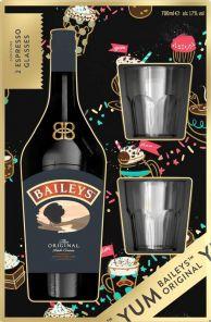 BAILEYS Original 17%+sklo  0.7l