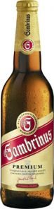GAMBRINUS excellent 11% sklo 24x 0,33l