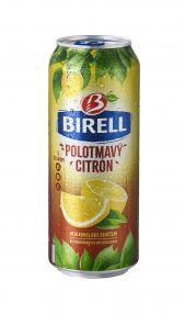 BIRELL Plech 0,5L Polotm.citron