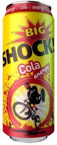 SHOCK! 500ml Cola energy