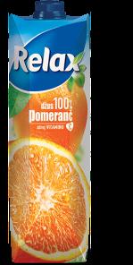 RELAX 1L Pomeranč 100%