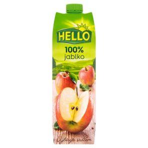 HELLO 1L jablko 100%