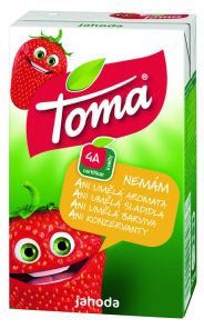 TOMA 1l jahoda