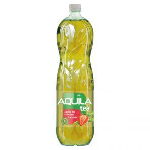 AQUILA Čaj 1,5L zelený s jahodou