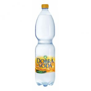 DOBRÁ VODA 1,5L pomeranč