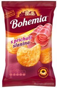 CHIPS Bohemia 77g slanina