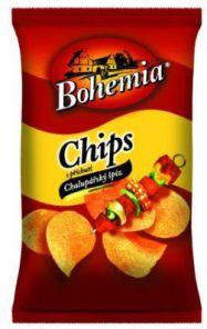 CHIPS Bohemia 77g chal.špíz